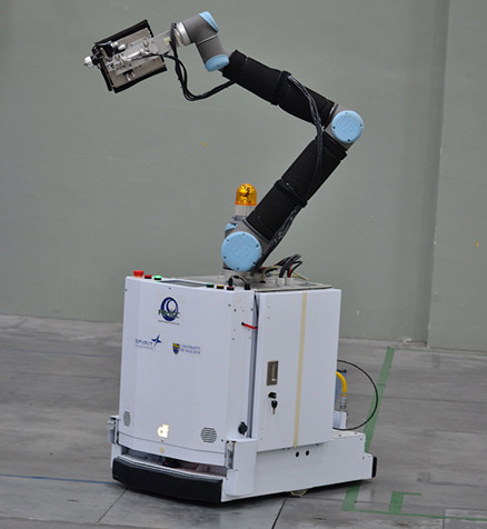 Autonomous Mobile Robot for Painting