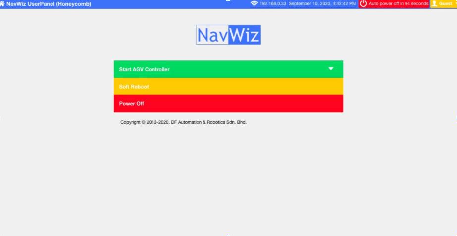 NavWiz Main Page
